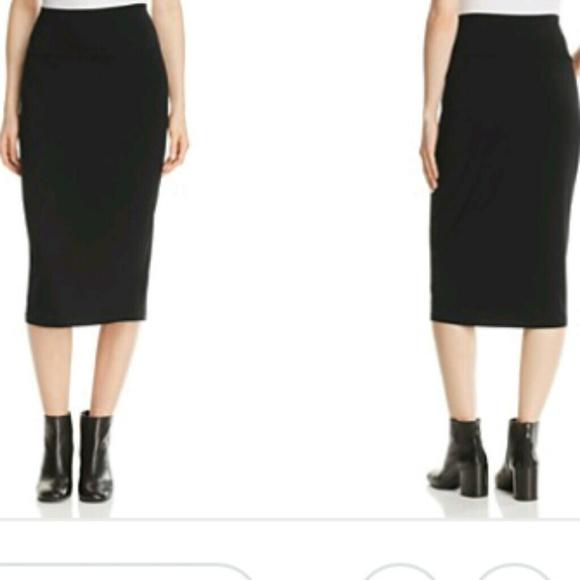 3e9969061 Eileen Fisher Skirts | Black Knit Pencil Skirt | Poshmark